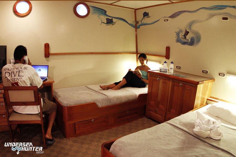 Cocos Island Liveaboard holiday Argo Cabin 4 C