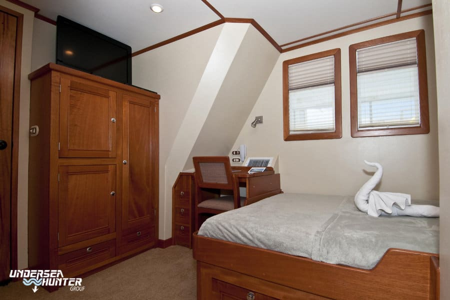 Cocos Island Liveaboard holiday Argo Owners Cabin