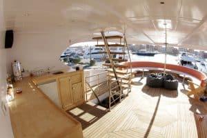 Red Sea liveaboard holiday Emperor Asmaa deck