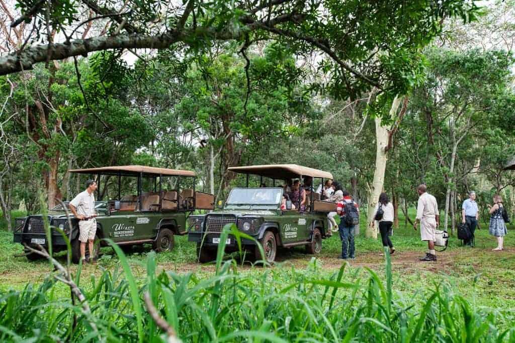 Mozambique Diving Safaris Hluhluwe Game Reserve Ubizane Tree lodge A Game Drive