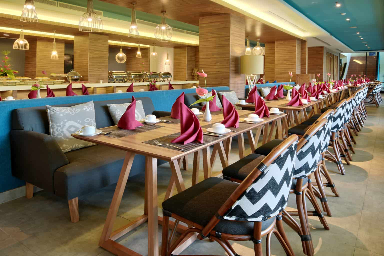 Indonesia Diving Holiday North Sulawesi Mercure Manado Breakfast Area