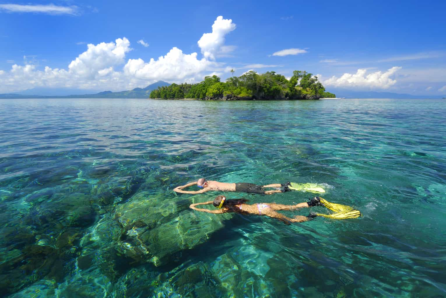 Indonesia Diving Holiday North Sulawesi Siladen Beach Snorkeling