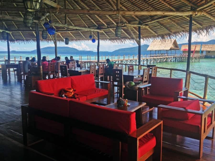 Indonesia Diving Holiday Raja Ampat Papua Explorer Restaurant