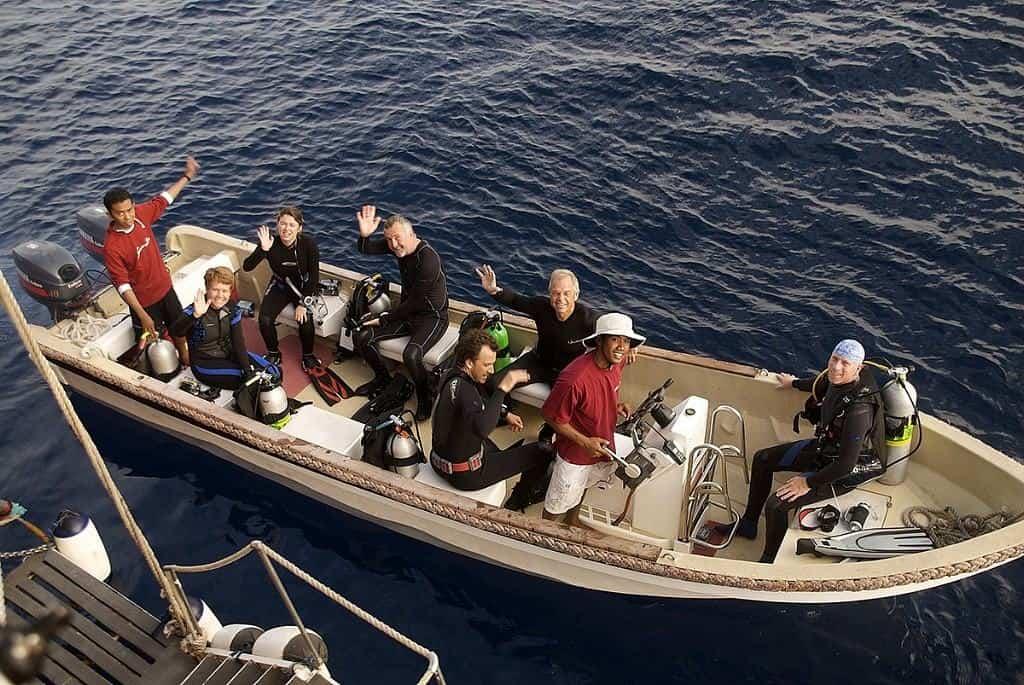 Indonesia liveaboard Diving holidays Seven Seas Dive Tender