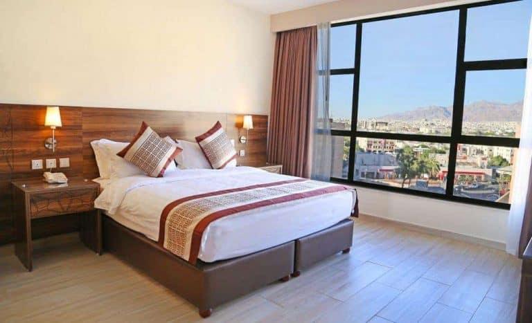 Jordan Diving holidays Aqaba La Costas hotel bedroom