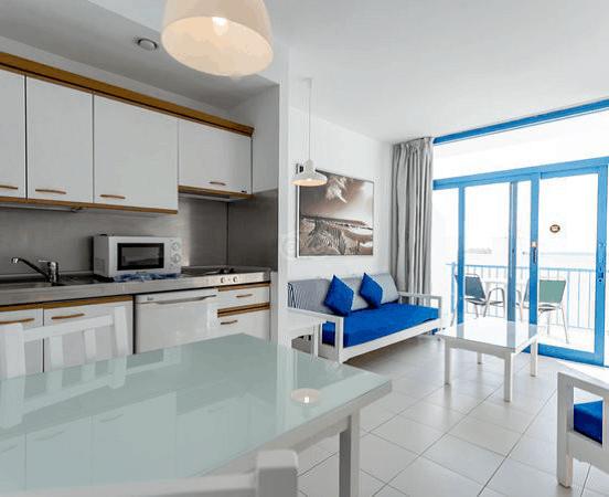 Lanzarote Diving holidays Costa Vulcan Apartments kitchen