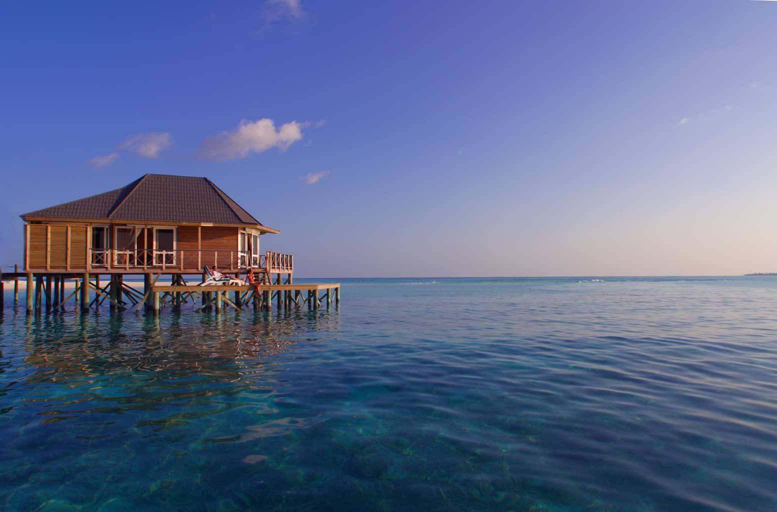 Maldives Diving Holiday Kuredu Sangu Water Villa Suite Exterior