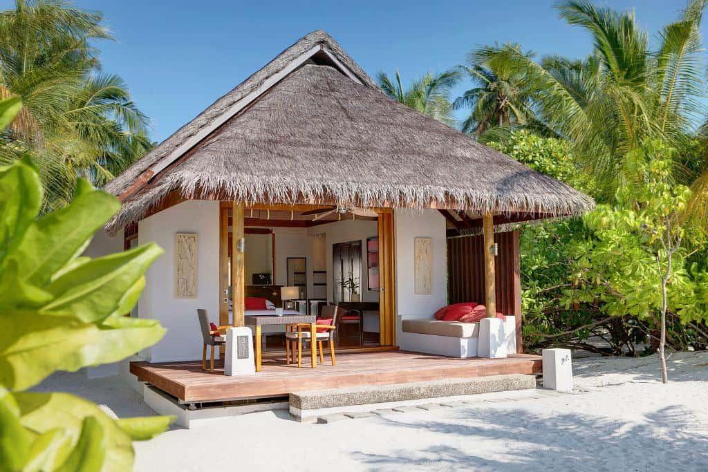 Maldives Diving Holiday Lux South Ari Beach Pool Villa Exterior beach