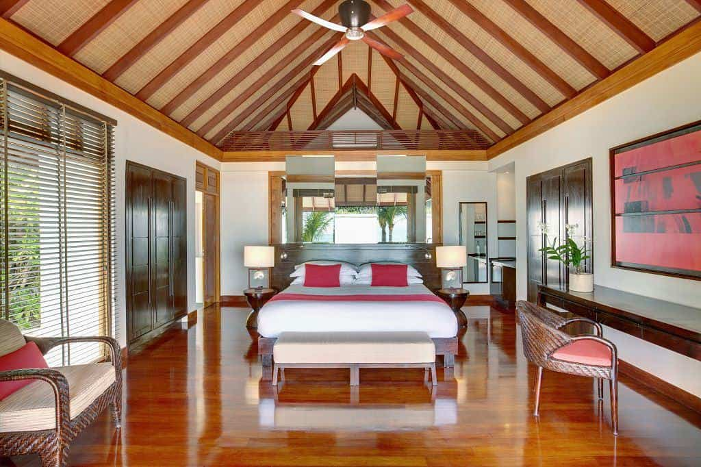 Maldives Diving Holiday Lux South Ari Beach Pool Villa interior