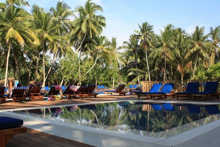 Maldives Diving Holiday Vilamendhoo Island Resort Childrens Pool