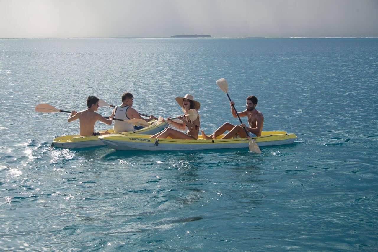 Maldives Liveaboard Holidays Emperor Virgo Kayaking