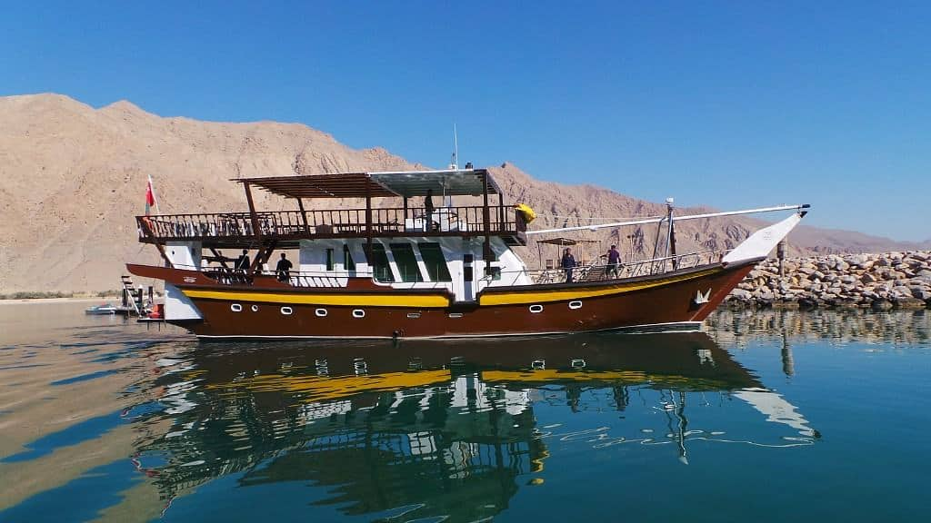 Oman Liveaboard Diving holiday Brown Dhow
