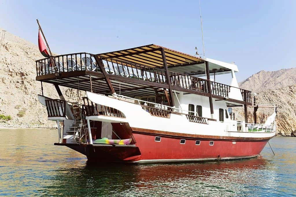 Oman Liveaboard Diving holiday Red Dhow