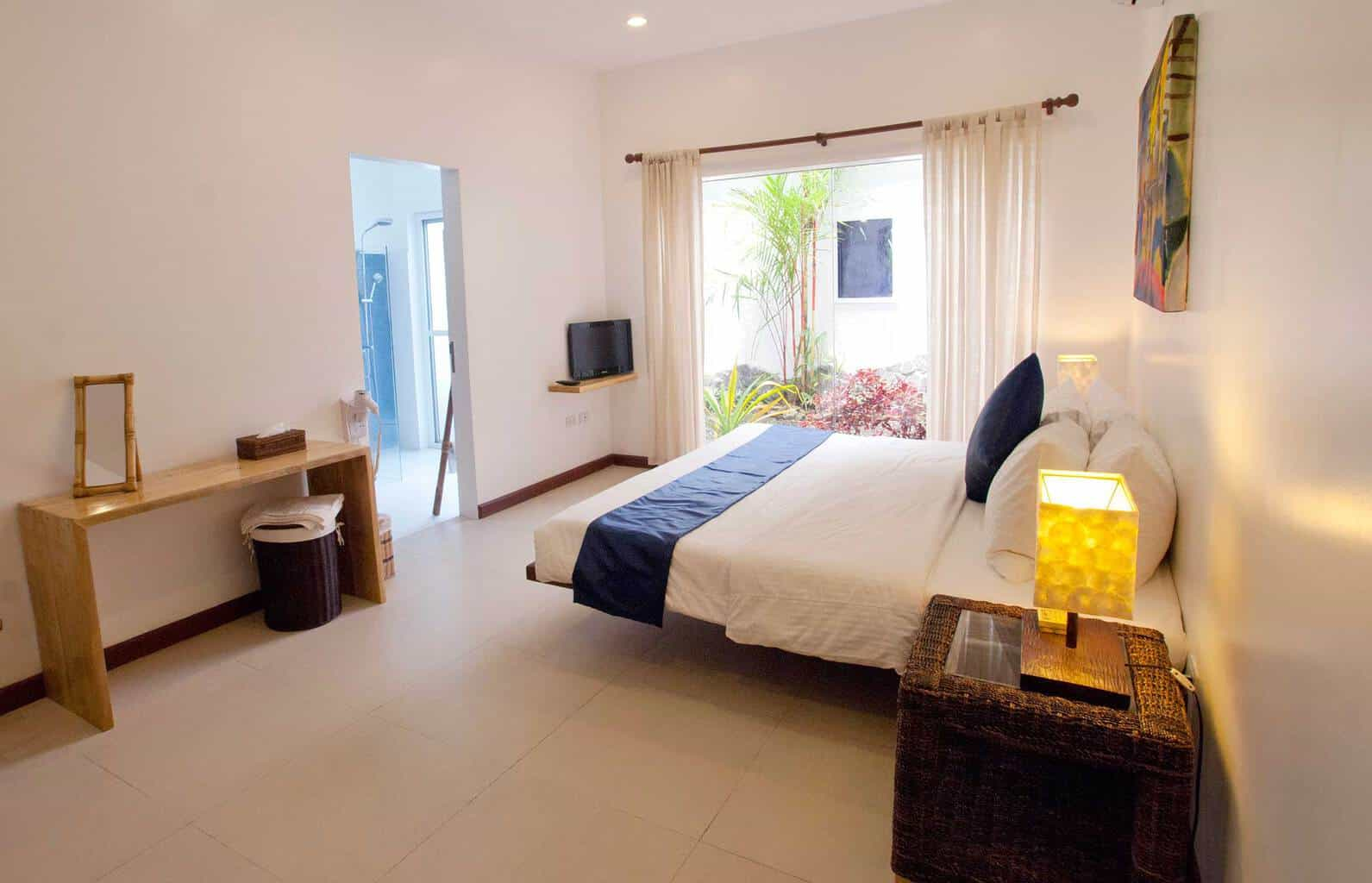 Philippines Diving holidays Atmosphere Apartment Bedroom