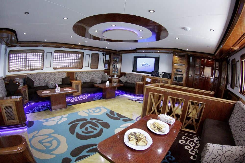 Red Sea Liveaboard holiday Emperor Superior lounge