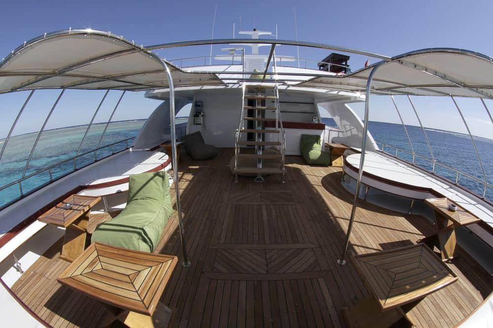 Red Sea Liveaboard holiday Emperor Superior sun deck