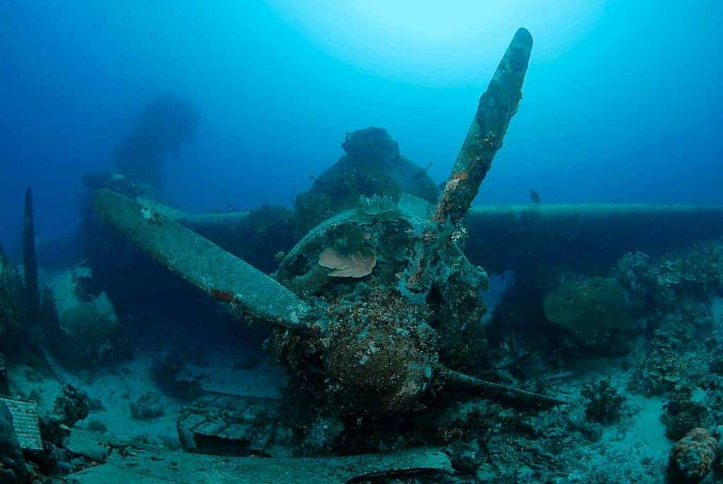 Truk Diving Liveaboard Holiday propeller