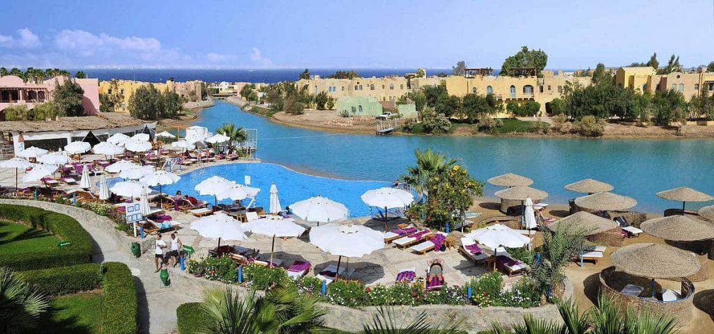 Red Sea Egypt Diving Holidays El Gouna Arena inn Lagoon View