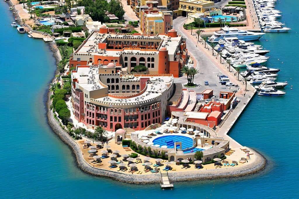 Red Sea Egypt Diving Holidays El Gouna Ocean View Air View