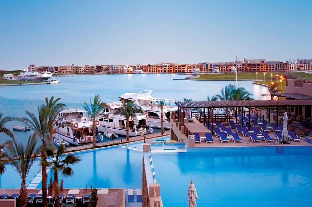 Red Sea Egypt Diving Holidays Marsa Alam Marina Lodge Lobby Panoramic View