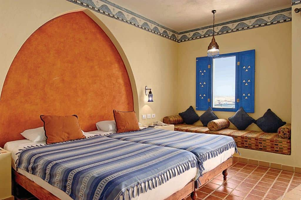 Red Sea Egypt Diving Holidays Marsa Alam Marina Lodge Rooftop Standard Room twin