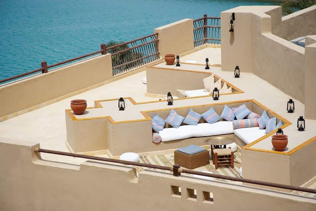 Red Sea Egypt Diving Holidays Marsa Alam Marina Lodge Rooftop bar
