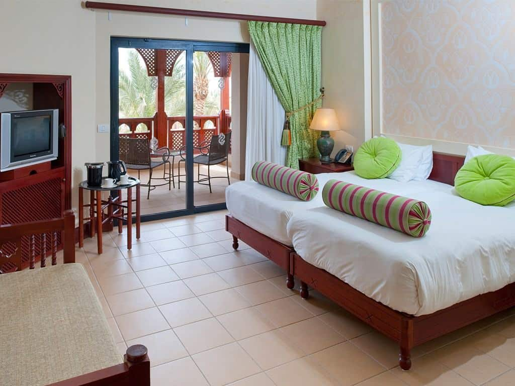 Red Sea Egypt Diving Holidays Marsa Alam Siva Port Ghalib Resort Standard Room Twin