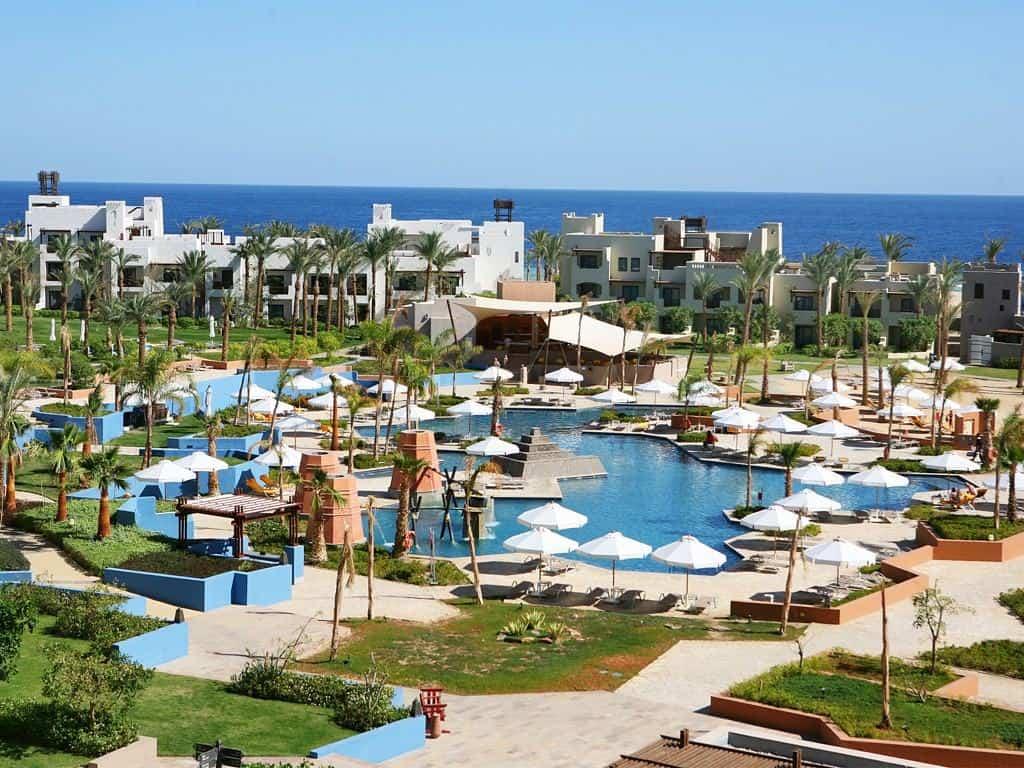 Red Sea Egypt Diving Holidays Marsa Alam Siva Port Ghalib Resort Swimming Pool