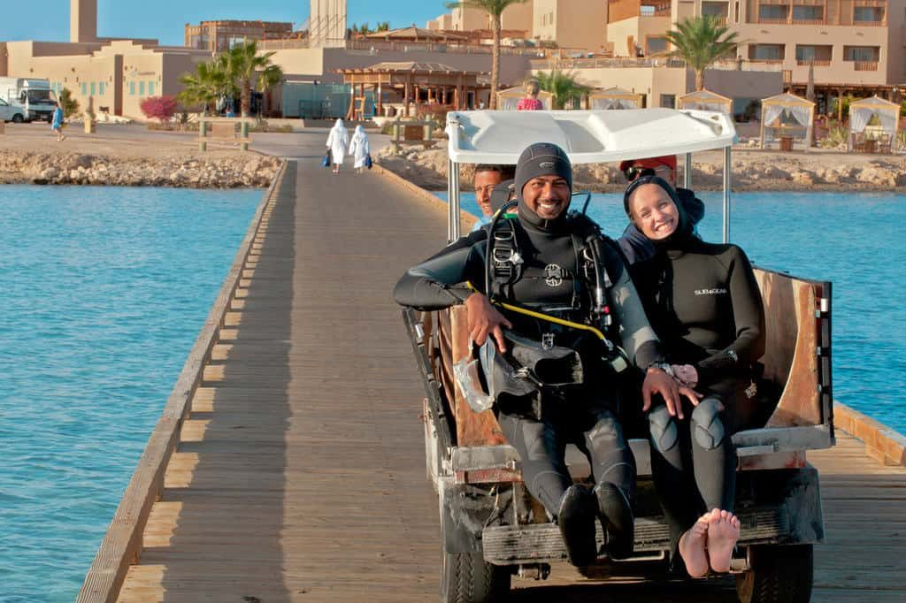 Red Sea Egypt Diving Holidays Soma Bay Breakers Diving Lodge Divers
