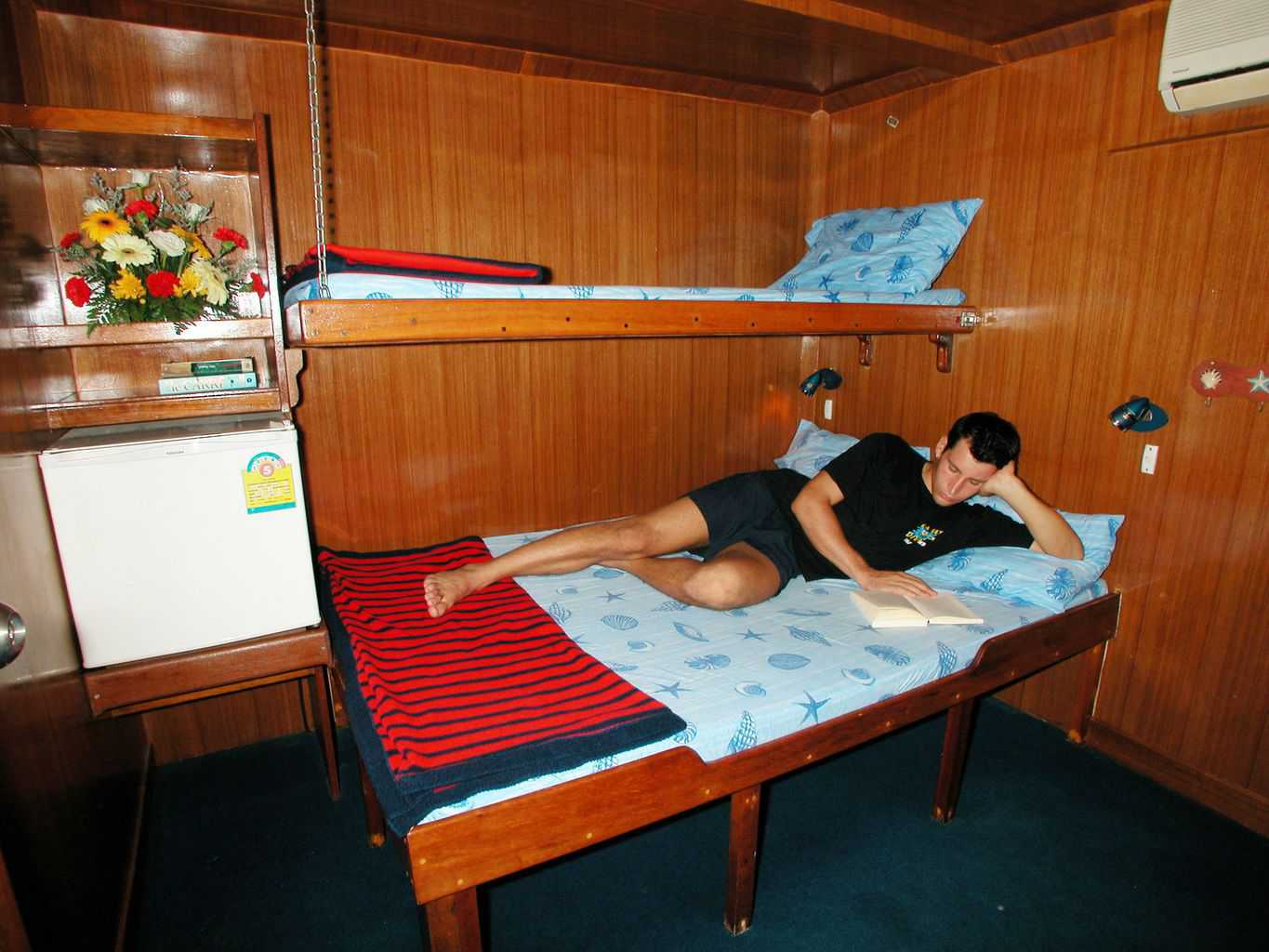 Thailand Dive Holiday MV Marco Polo Twin cabin 2