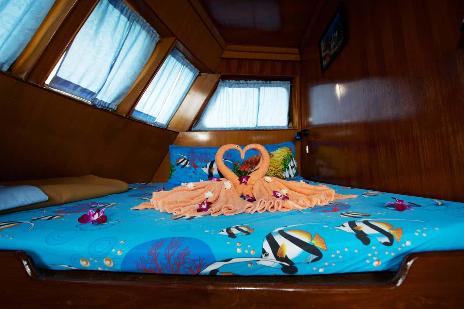 Thailand Dive Holiday Marco Polo Honeymoon Cabin