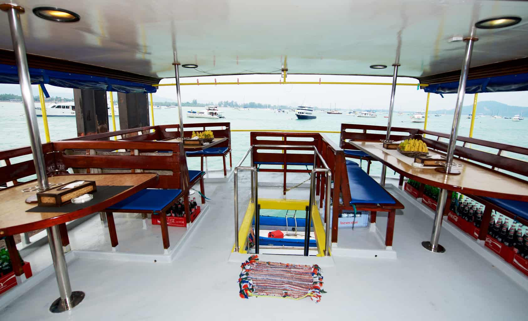 Thailand Dive Holiday Marco Polo main deck