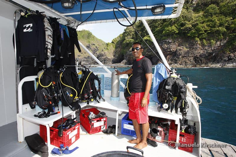 Thailand Diving Holidays MV Genesis 1 dive guide