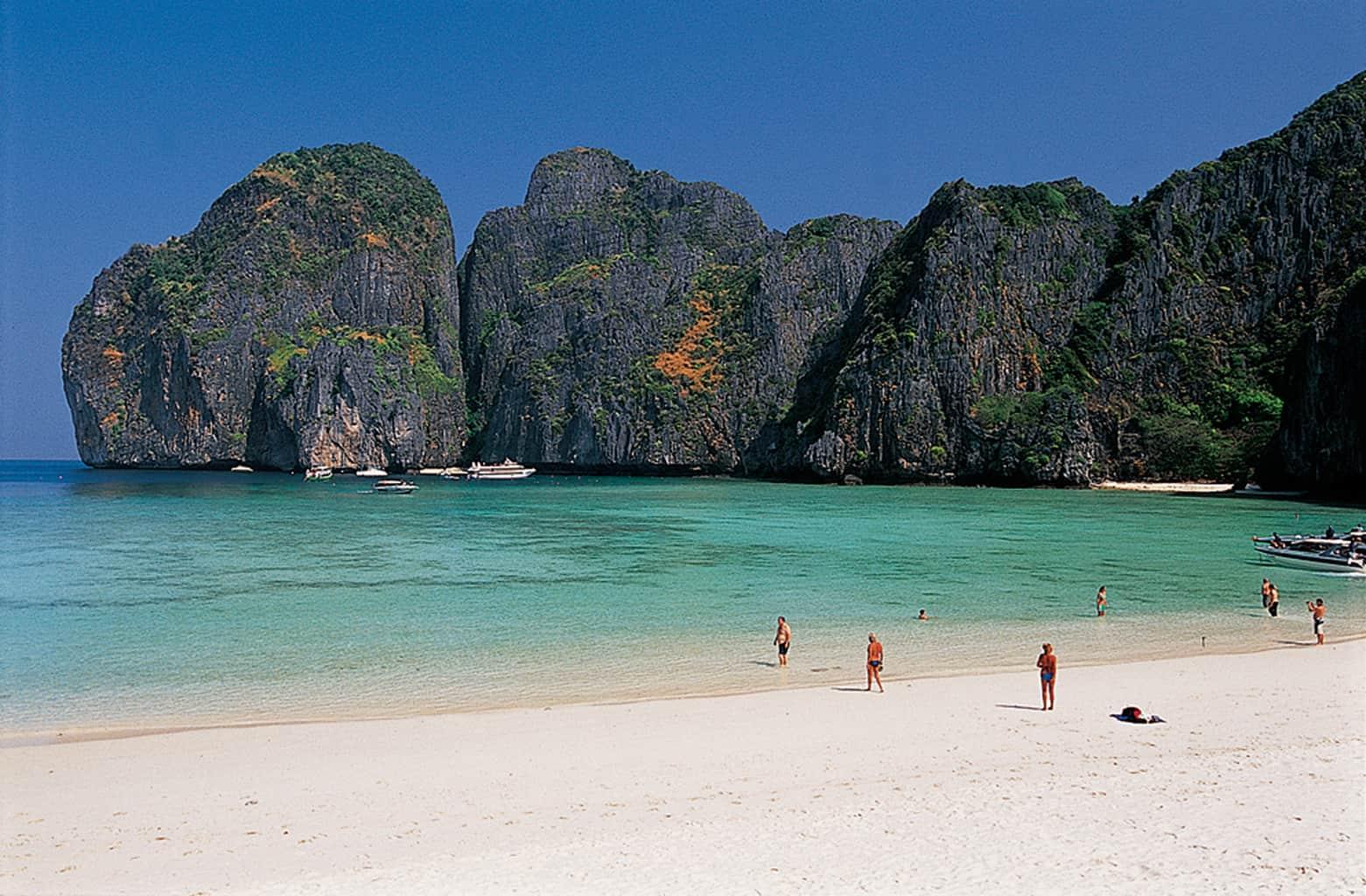 Thailand Diving Holidays Maya Beach Krabi