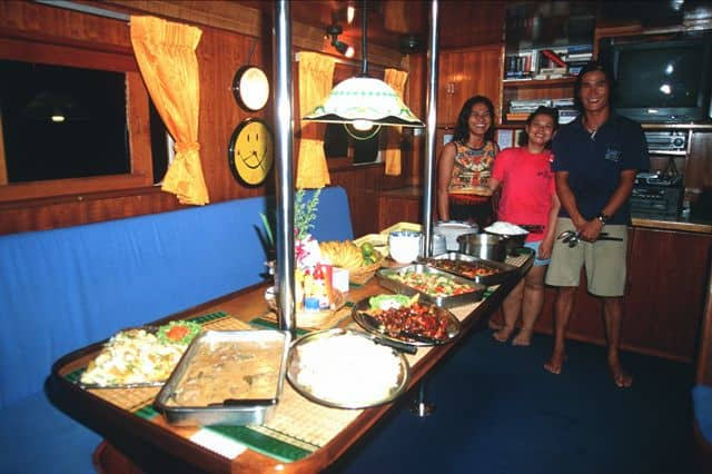 Thailand Diving holidays MV Marco Polo Galley