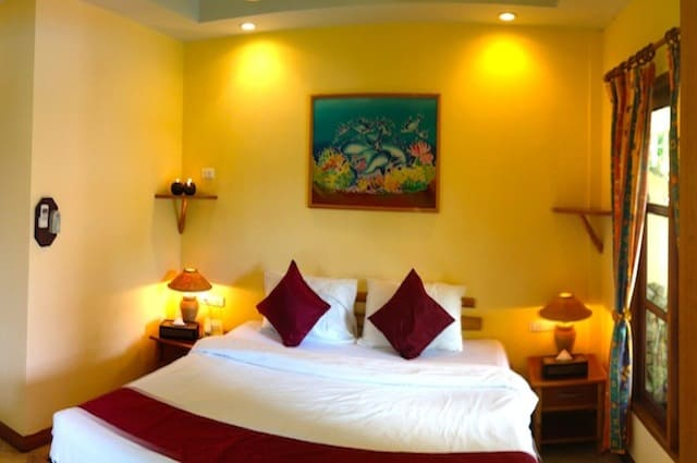 Thailand Diving holidays - Phuket Palm Garden double room