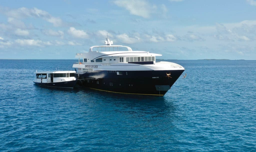Maldives diving liveaboard Emperor Explorer