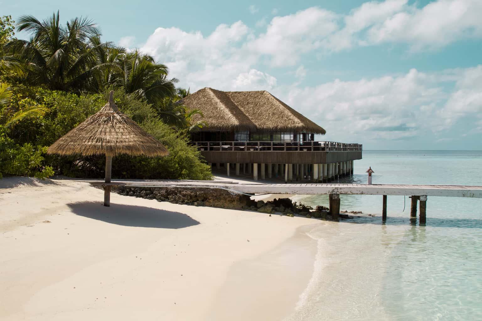 Maldives Diving Holiday Eriyadu Island pier