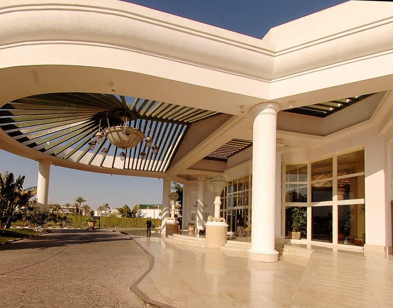 Sharm Diving Holidays Hilton Sharm Waterfalls Entrance