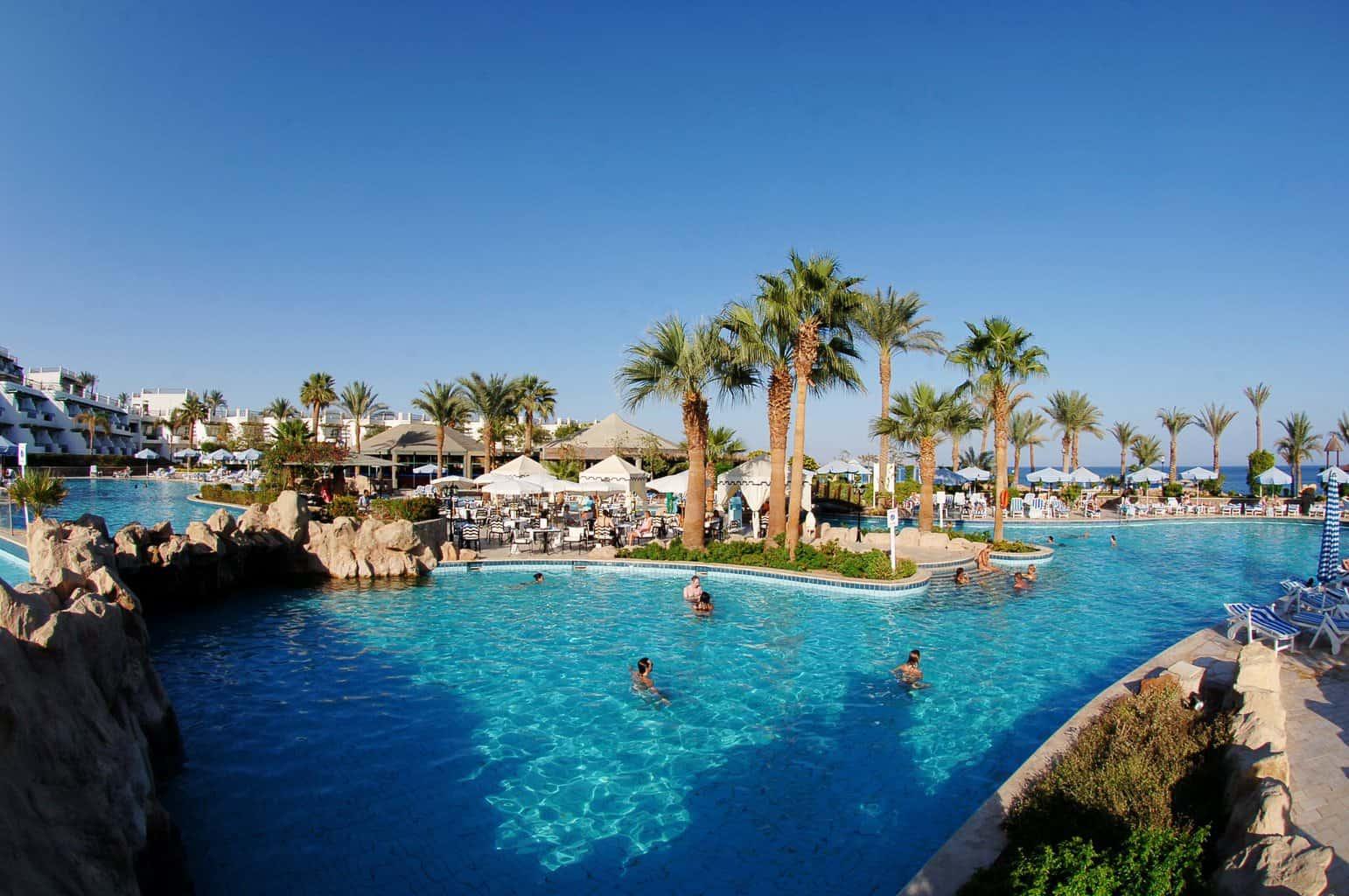 Sharm Diving Holidays Hilton Sharm Waterfalls Main Pool