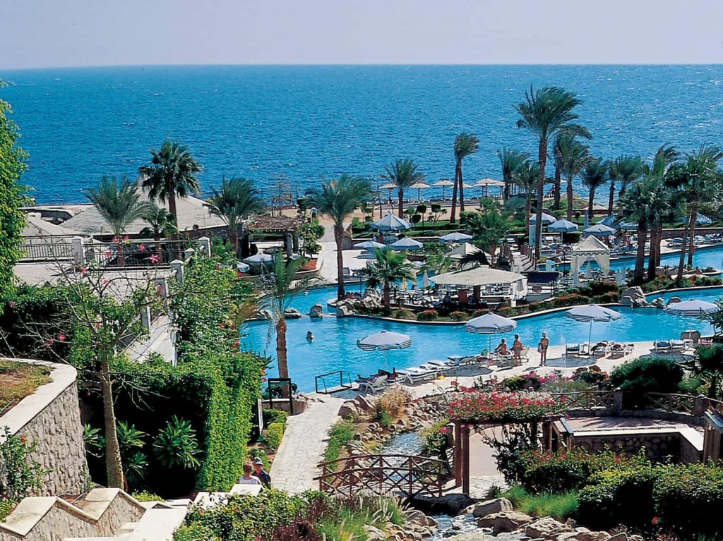 Sharm Diving holidays Sharm Hilton Waterfalls panarama