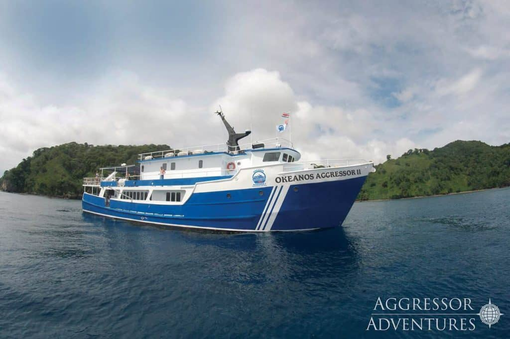 Cocos Diving Holidays Okeanos Aggressor II