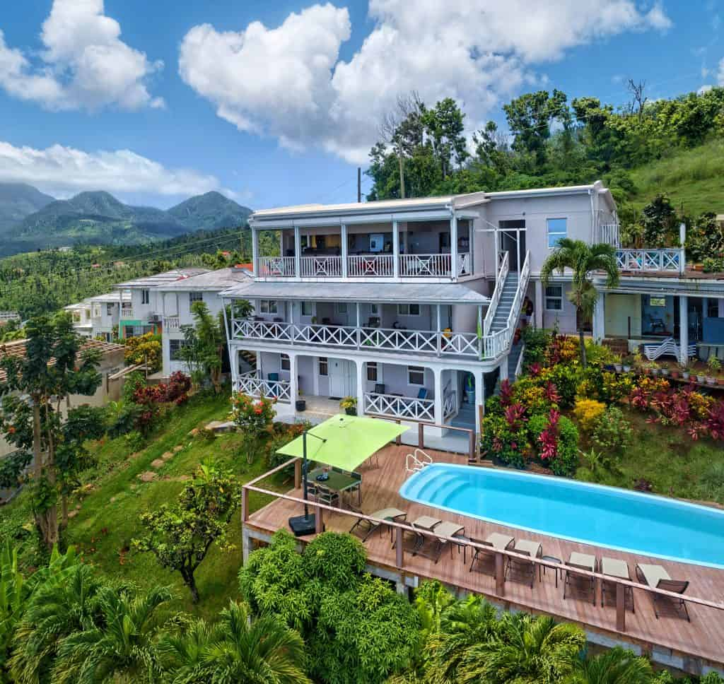 Dominica Diving Holidays Hotel The Champs