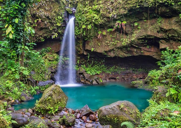 Dominica Diving Holidays Emerald Pool
