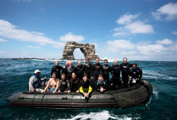 Galapagos Diving holidays - Darwin Arch