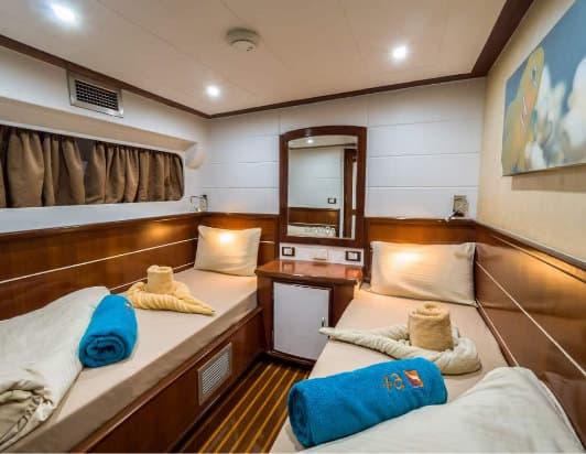 Red Sea Liveaboard holiday Emperor Asmaa Cabin