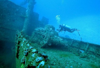 Truk Diving holiday - Fantastic wreck diving