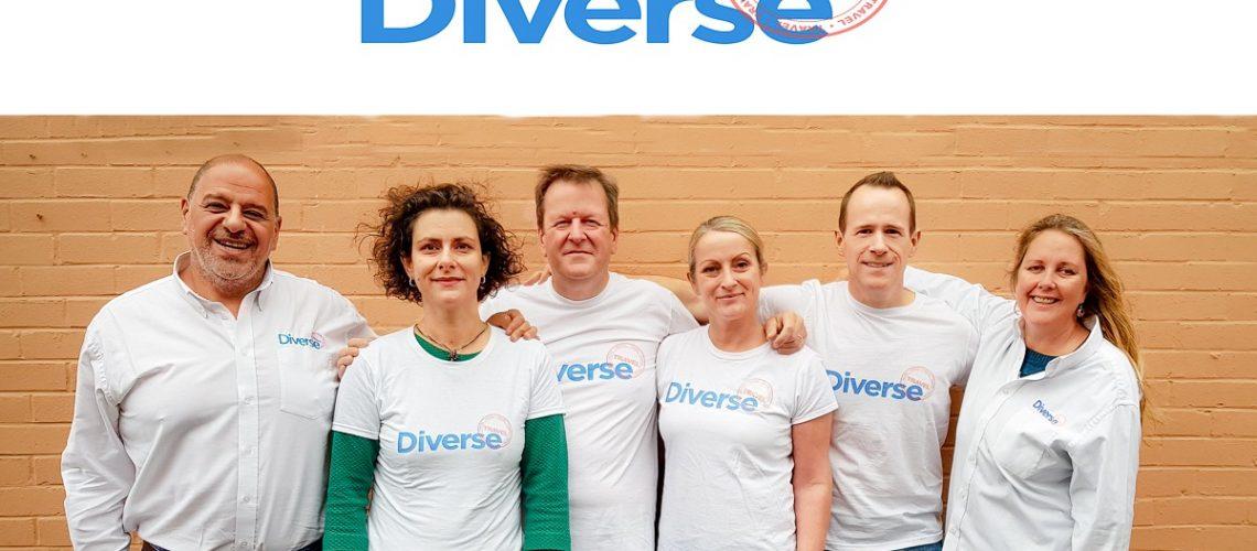 Diverse Travel Sales Team 30 Nov 2018 Colour